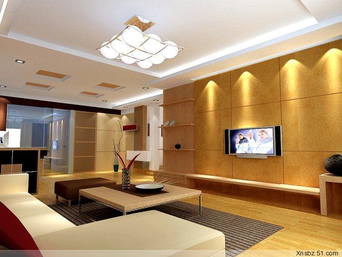 整套家装设计效果图-客厅装修效果图-八六(中国)装饰