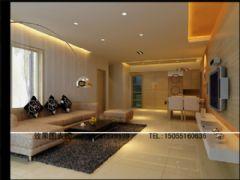 客厅效果图现代风格