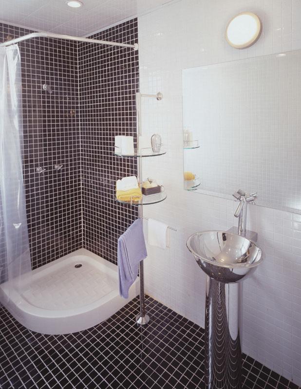 现代简约整套家装图片-卫生间装修效果图-八六(中国)