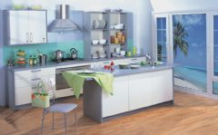 现代厨房图片,无处不在的亮点