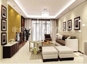涂师傅墙艺漆 装饰效果展示客厅装修图片