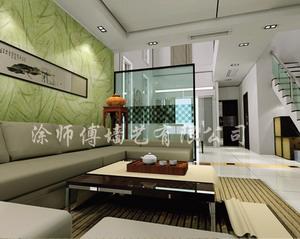 涂师傅墙艺漆 装饰效果展示 客厅装修效果图