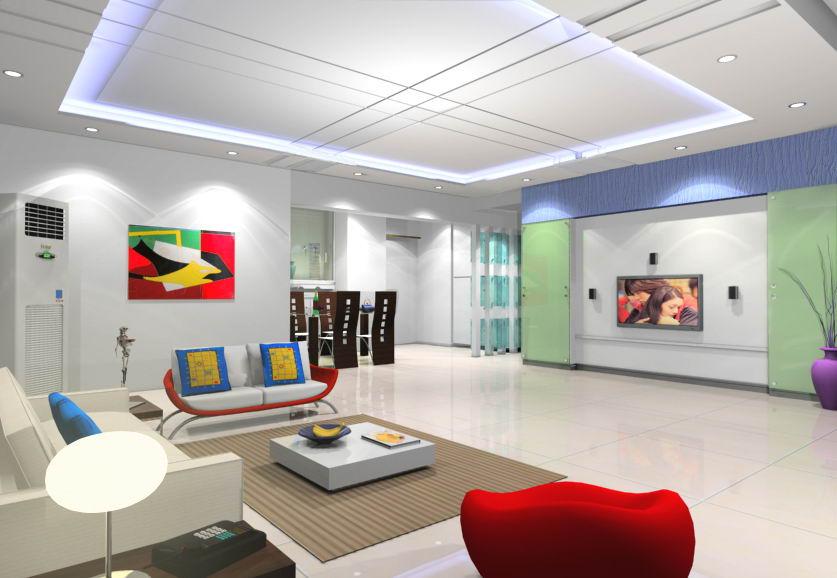 超创意的客厅装修效果图片