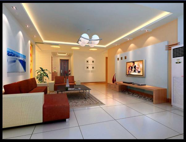 装修   室内客厅图片集景-现代风格装修效果图-八六装饰网