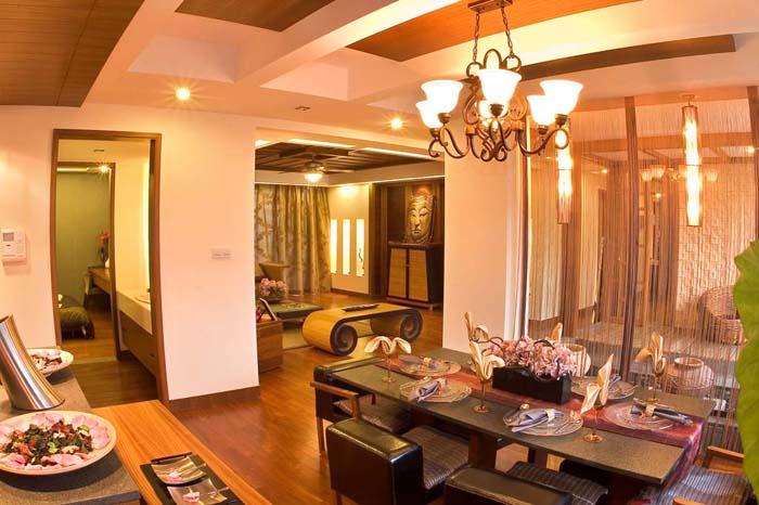 泰国风格-客厅装修图片