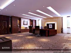 丽影空间设计表现现代风格大户型