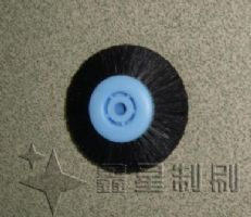 工业制刷-塑料芯猪毛轮