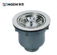 MOEN摩恩 高档提笼式厨盆水槽落水器下水