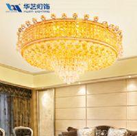 华艺灯饰现代奢华水晶灯吸顶灯 璀璨系列客厅灯餐厅灯具