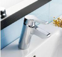 美标卫浴洁具艾迪亚全铜龙头无铅单孔洗脸盆台盆龙头3907含去水