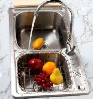 304不锈钢一体成形水槽套餐