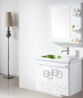 实木浴室柜花玲珑