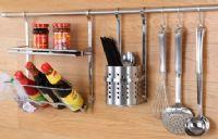 厨房挂件 挂架 不锈钢 置物架