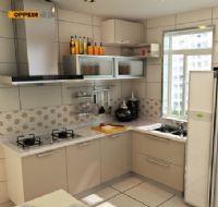 定制定做整体橱柜套餐 厨柜厨房 石英石台面电器 一米阳光