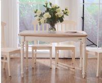 地中海风情实木餐桌