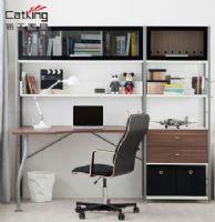 猫王家具钢木书房家具组合现代简约书柜书架组合柜MWA-ZH03