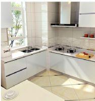 欧派定制整体橱柜厨柜套餐 石英石台面电器 厨房装修 宁静之夏