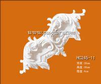 PU建材PU线条弯角花HC245-11